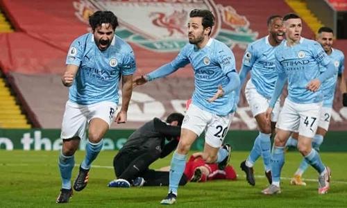 Man City tiệm cận ngôi Vua Premier League