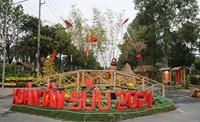 Khai mạc đường hoa Xuân thành phố Cao Lãnh
