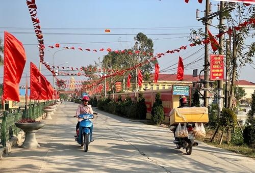 Xuân về trên vùng đất nông thôn mới Hà Nam