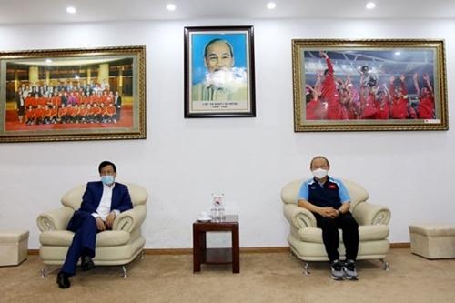 Tin tưởng ĐT Việt Nam sẽ tiếp tục giành được kết quả tốt nhất