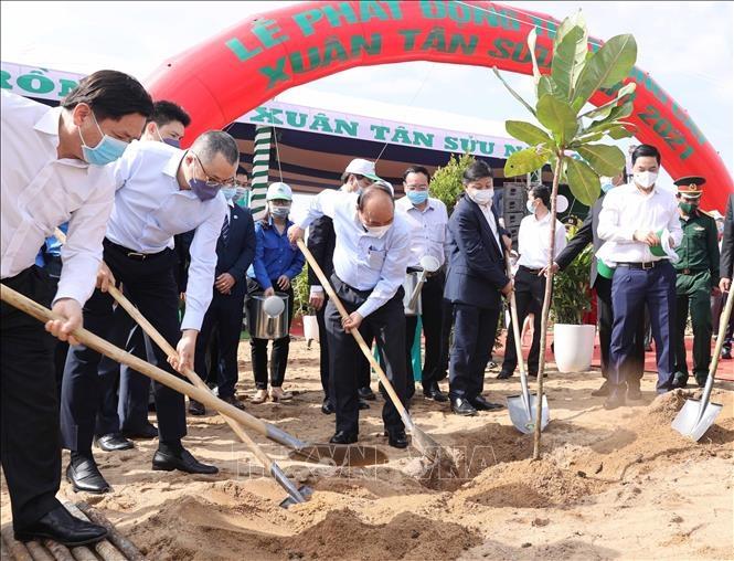 Thông điệp chương trình trồng 1 tỷ cây xanh Vì một Việt Nam xanh