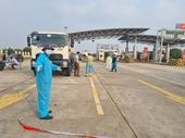 Dừng phân luồng từ Quốc lộ 5 đi cao tốc Hà Nội – Hải Phòng để đảm bảo lưu thông hàng hóa