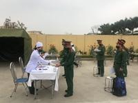 Trường Sĩ quan Chính trị tăng cường phòng, chống dịch COVID-19