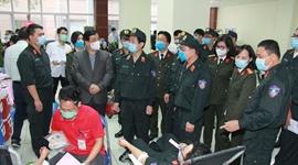Bộ Tư lệnh Cảnh sát cơ động Bộ Công an Phát động phong trào hiến máu cứu người