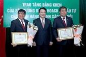 Bộ Kế hoạch và Đầu tư tặng Bằng khen cho Ngân hàng Chính sách xã hội