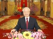 Thư chúc mừng Tổng Bí thư, Chủ tịch nước Nguyễn Phú Trọng