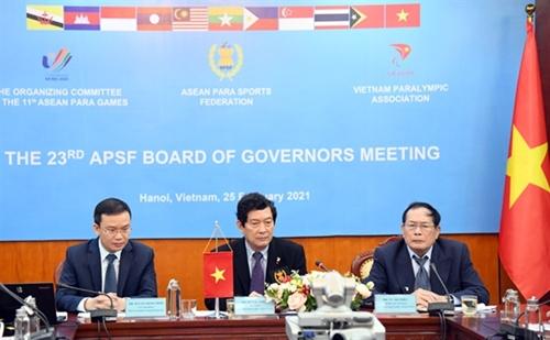ASEAN Para Games lần thứ 11 khai mạc tại Hà Nội vào ngày 14 12