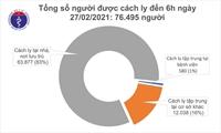 1 839 bệnh nhân COVID-19 đã khỏi bệnh