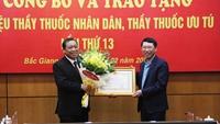 Bắc Giang Trao tặng danh hiệu Thầy thuốc Nhân dân, Thầy thuốc Ưu tú