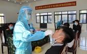 Quảng Ninh Lấy mẫu xét nghiệm COVID – 19 cho 100 công dân chuẩn bị nhập ngũ