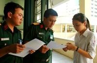 Đăng ký sơ tuyển vào trường ĐH, CĐ hệ quân sự từ ngày 1 3
