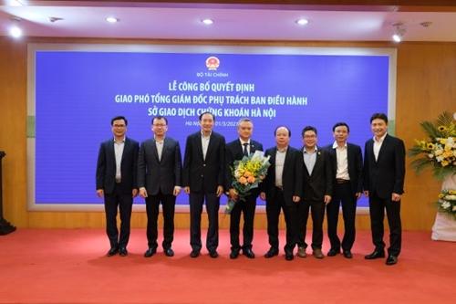 Công bố thông tin về việc thay đổi nhân sự lãnh đạo Sở GDCK Hà Nội
