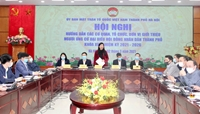 Các bước giới thiệu, ứng cử đại biểu HĐND TP Hà Nội phải bảo đảm dân chủ, đúng luật