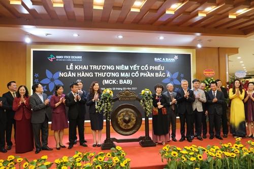 Hơn 708 triệu cổ phiếu Ngân hàng TMCP Bắc Á chính thức niêm yết trên HNX
