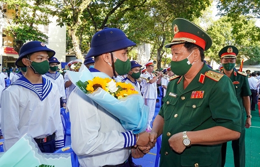 TP Hồ Chí Minh náo nức Ngày hội tòng quân