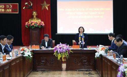 Phát triển huyện Thanh Trì trở thành quận năm 2023