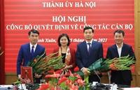 Hà Nội Đồng chí Nguyễn Xuân Lưu giữ chức Giám đốc Sở Tài chính