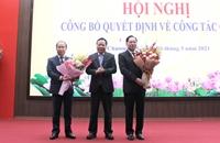 Hà Nội trao quyết định về công tác cán bộ
