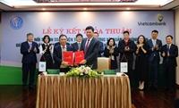 Vietcombank Kết nối thanh toán điện tử song phương