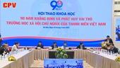90 năm trường học xã hội chủ nghĩa của thanh niên Việt Nam