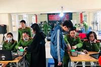 Đo sự hài lòng của người dân, tổ chức đối với cơ quan, đơn vị giải quyết TTHC trong CAND