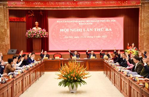 Thành ủy Hà Nội ban hành 10 chương trình công tác toàn khóa