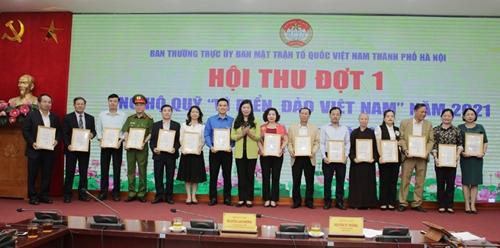 """Tiếp nhận trên 12 tỷ đồng ủng hộ Quỹ """"Vì biển, đảo Việt Nam"""" năm 2021"""