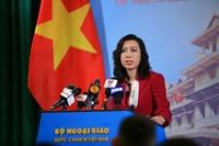 Yêu cầu Trung Quốc chấm dứt xâm phạm, tôn trọng chủ quyền của Việt Nam