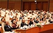 Hình ảnh khai mạc Hội nghị toàn quốc quán triệt Nghị quyết Đại hội XIII của Đảng