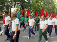 TP Hồ Chí Minh Hơn 30 000 người tham gia ngày chạy Olympic vì sức khỏe toàn dân