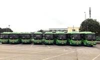 Xe buýt Hà Nội khai thác 3 tuyến mới