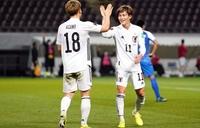 Nhật Bản dẫn đầu bảng F vòng loại World Cup 2022