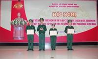 Bộ đội biên phòng tỉnh Nghệ An sơ kết 5 năm thực hiện Chỉ thị 05