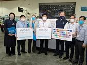 Hơn 800 000 liều vắc xin phòng COVID-19 của COVAX đã về đến Việt Nam