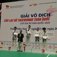 Giải vô địch các câu lạc bộ Taekwondo diễn ra từ ngày 7 - 14 4