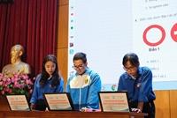 Sinh viên Đại học Giao thông Vận tải sôi nổi tham gia thi trắc nghiệm về an toàn giao thông