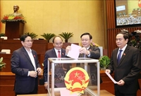   Quốc hội miễn nhiệm Tổng Thư ký Quốc hội, Tổng Kiểm toán nhà nước