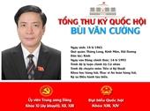 [Infographic] Chân dung tân Tổng Thư ký Quốc hội Bùi Văn Cường
