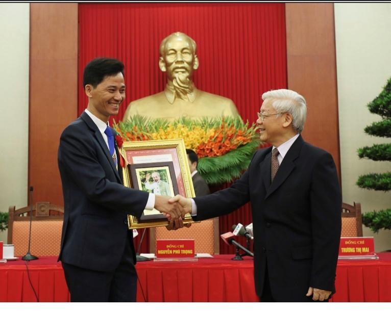 Anh hùng lao động Nguyễn Trọng Thái Tình yêu nghề là động lực thành công