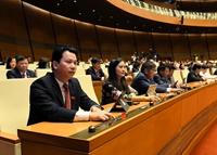 Thông qua Nghị quyết công tác nhiệm kỳ 2016-2021 của các cơ quan trong bộ máy Nhà nước