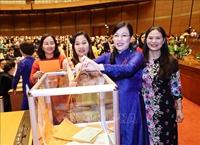 Quốc hội phê chuẩn 2 Phó Chủ tịch và 8 Ủy viên Hội đồng Bầu cử quốc gia