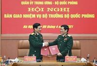 Bàn giao nhiệm vụ Bộ trưởng Bộ Quốc phòng