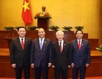Điện, Thư chúc mừng Lãnh đạo cấp cao Việt Nam