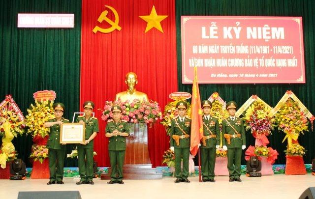 Trường Quân sự Quân khu 5 đón nhận Huân chương Bảo vệ Tổ quốc hạng Nhất