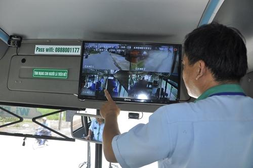 Đẩy nhanh tiến độ lắp camera trên xe khách, xe tải
