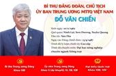 [Infographic] Chân dung tân Chủ tịch Uỷ ban Trung ương MTTQ Việt Nam Đỗ Văn Chiến