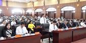 Đà Nẵng Kỳ họp cuối cùng của nhiệm kỳ 2016-2021 thảo luận nhiều nội dung quan trọng