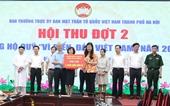 """Hà Nội Hội thu Quỹ """"Vì biển, đảo Việt Nam"""" đợt 2 đạt 23,7 tỷ đồng"""