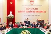 Hội nghị lần thứ 8 Đoàn Chủ tịch UBTƯ MTTQ Việt Nam thảo luận về công tác nhân sự
