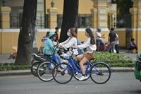 TP HCM thí điểm xe đạp công cộng với mức giá 5 000 đồng 30 phút